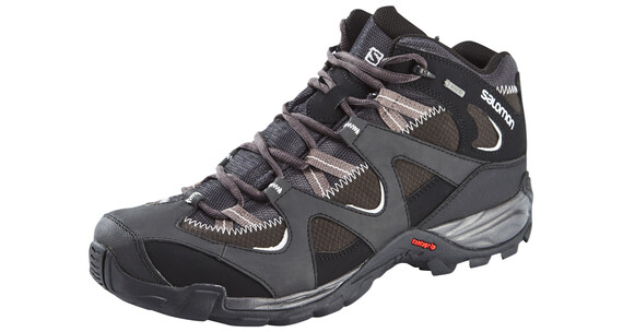 Salomon Sector Mid GTX Hiking Shoes Men asphalt/black/gy